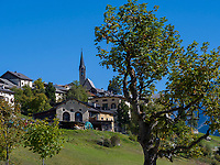 Guarda bei Scuol, Unterengadin, Graub&uuml;nden, Schweiz, Europa<br /> Guarda, Scuol, Engadine, Grisons, Switzerland
