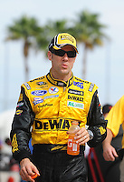 Nov. 20, 2009; Homestead, FL, USA; NASCAR Sprint Cup Series driver Matt Kenseth during practice for the Ford 400 at Homestead Miami Speedway. Mandatory Credit: Mark J. Rebilas-