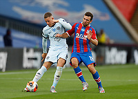 7th July 2020; Selhurst Park, London, England; English Premier League Football, Crystal Palace versus Chelsea; James McArthur of Crystal Palace challenges Ross Barkley of Chelsea