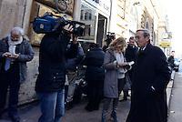 """Roma, 27 Novembre 2015.<br /> Gianfranco Fini.<br /> Festival della Legalità: """"Io ho paura """"<br /> Convegno su immigrazione e terrorismo<br /> presso il Centro multimediale dell'Università degli studi Guglielmo Marconi"""