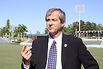 12 April 2012: NASL Commissioner David Downs. The Carolina RailHawks held a Media Roundtable at WakeMed Stadium in Cary, NC.