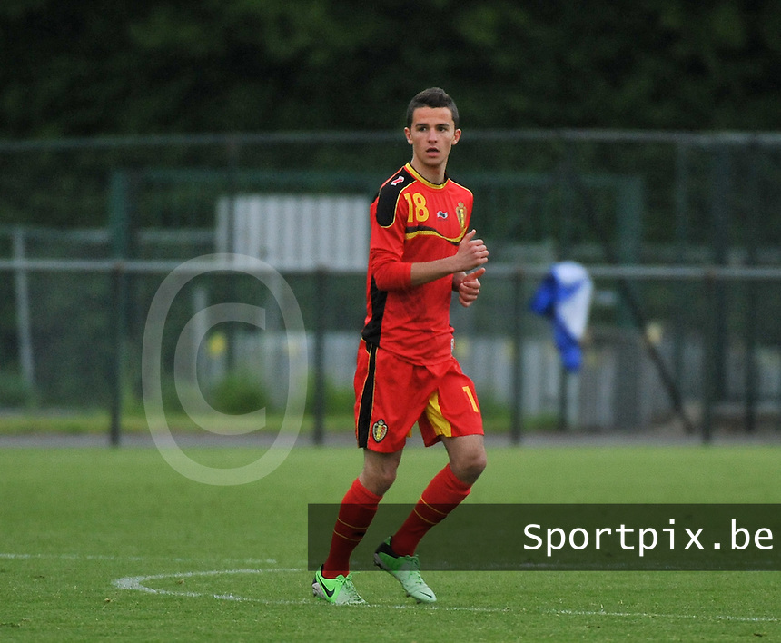 Scotland U19 - Belgium U19 : Siebe Schrijvers.foto DAVID CATRY / Nikonpro.be