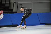 SCHAATSEN: SALT LAKE CITY: Utah Olympic Oval, 12-11-2013, Essent ISU World Cup, training, Team Russia, Ivan Skobrev, ©foto Martin de Jong