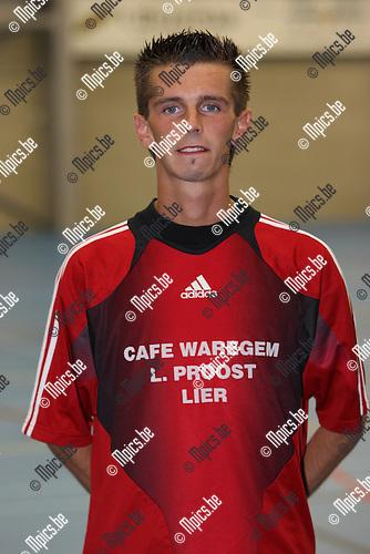 2007-08-16 / Futsal / Lier / Frederick Faes