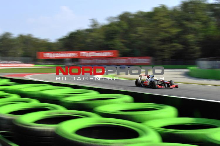 05.-08.09.2011, Autodromo Nationale, Monza, ITA, F1, Grosser Preis von Italien, Monza, im Bild  Sergio Perez (MEX)  McLaren F1 Team  <br />  Foto &copy; nph / Mathis