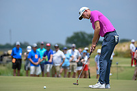 Andrew Wise (USA) watches his putt on 10 during round 3 of the AT&amp;T Byron Nelson, Trinity Forest Golf Club, at Dallas, Texas, USA. 5/19/2018.<br /> Picture: Golffile | Ken Murray<br /> <br /> <br /> All photo usage must carry mandatory copyright credit (&copy; Golffile | Ken Murray)
