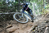 8th September 2017, Smithfield Forest, Cairns, Australia; UCI Mountain Bike World Championships; Florent Payet (FRA) riding for VV Racing during the downhill official timed session;