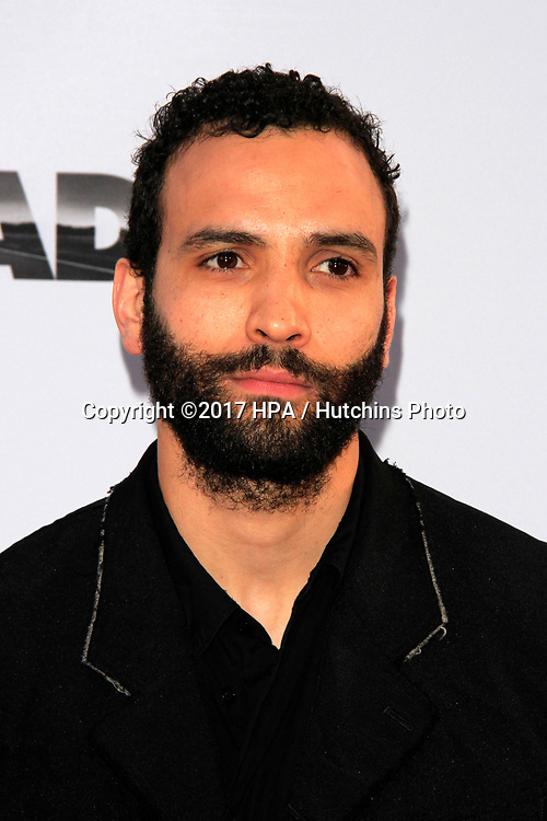 """LOS ANGELES - APR 12:  Marwan Kenzari at the """"The Promise"""" Premiere at the TCL Chinese Theater IMAX on April 12, 2017 in Los Angeles, CA"""