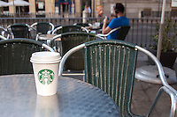 Starbucks Coffee Cup in Madrid