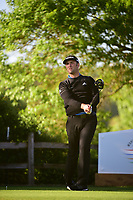 Jon Rahm (ESP) watches his tee shot on 6 during round 4 of the World Golf Championships, Dell Technologies Match Play, Austin Country Club, Austin, Texas, USA. 3/25/2017.<br /> Picture: Golffile | Ken Murray<br /> <br /> <br /> All photo usage must carry mandatory copyright credit (&copy; Golffile | Ken Murray)