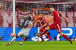 13.03.2019, Allianz Arena, Muenchen, GER, UEFA CL, FC Bayern Muenchen (GER) vs FC Liverpool (GBR) ,Achtelfinale, UEFA regulations prohibit any use of photographs as image sequences and/or quasi-video, im Bild Torschuss zum 0-1 durch Sadio Mane (Liverpool #10) mit Niklas Suele (FCB #4) Rafinha (FCB #13) <br /> <br /> Foto © nordphoto / Straubmeier