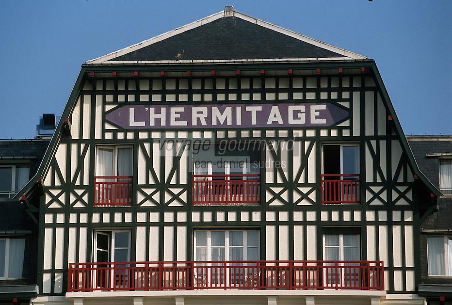 Europe/France/Pays de la Loire/44/Loire Atlantique/La Baule: L'Hotel Hermitage - Façade