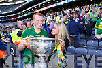 Kerry players celebrate after they defeated  Donegal in the All Ireland Senior Football Final in Croke Park Dublin on Sunday 21st September 2014.