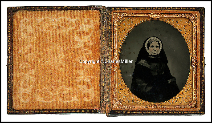 BNPS.co.uk (01202 558833)Pic: CharlesMiller/BNPS<br /> <br /> Horatia Nelson.<br /> <br /> An incredibly rare photograph of Admiral Lord Nelson's love child showing her as a middle-aged impoverished woman has been uncovered.<br /> <br /> The colour ambrotype picture shows Horatia Nelson Ward in the mid-19th century, following a lifetime of financial hardship. <br /> <br /> After the great naval hero's death at the Battle of Trafalgar in 1805, society spurned his mistress Lady Emma Hamilton and she and Horatia ended up in a debtors' prison.