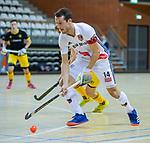 Almere - Zaalhockey  Amsterdam-Den Bosch (m) . Nicky Leijs (Adam)    TopsportCentrum Almere.    COPYRIGHT KOEN SUYK