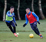 Michael O'Halloran and James Tavernier