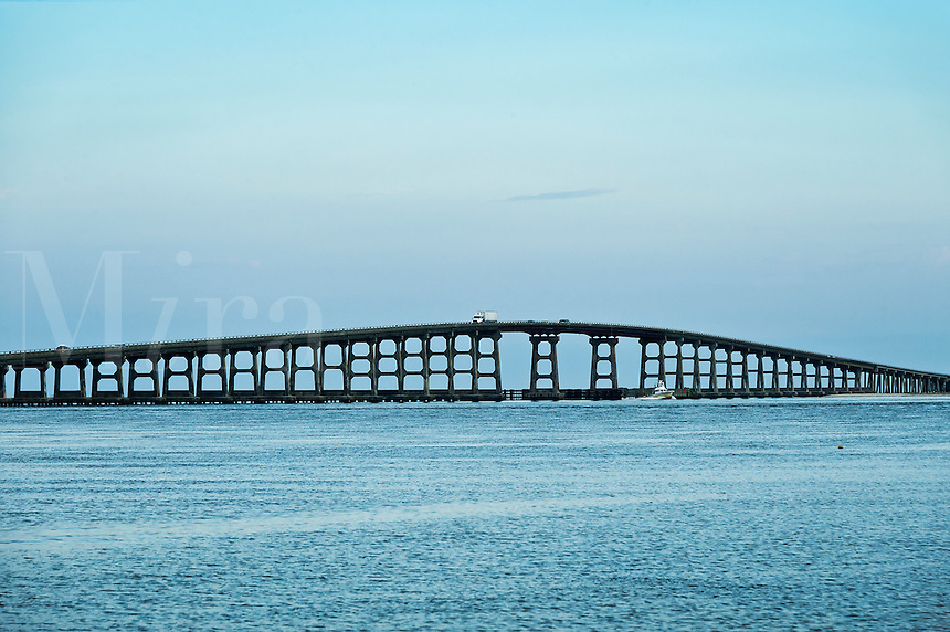 Oregon Inlet and Bonner Bridge, Hatteras Island, Outer Banks, NC, North Carolina