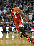 UNLV's Ike Nwamu drives up the court during a men's college basketball game against Nevada in Reno, Nev., on Saturday, Jan. 23, 2016. Cathleen Allison/Las Vegas Review-Journal