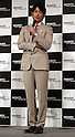 """May 31, 2016, Tokyo, Japan - Cast of Amazon Japan's original drama """"Hapimari, Happy Marriage!?"""" Dean Fujioka speaks at a promotional event for Amazon Prime Video in Tokyo on Tuesday, May 31, 2016. Amazon Japan announced they would increase original contents for Amazon' video distribution service in Japan.      (Photo by Yoshio Tsunoda/AFLO)"""