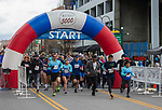 The start of the 5 K race during the 6th Annual Reno 5000 Downtown River Run on Saturday, April 6, 2019.