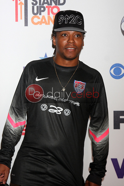 Lupe Fiasco<br /> Stand Up 2 Cancer Telecast Arrivals, Dolby Theater, Los Angeles, CA 09-05-14<br /> David Edwards/DailyCeleb.com 818-249-4998