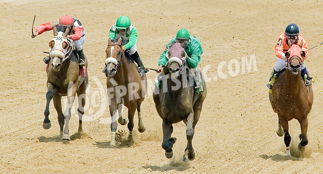 Tappinintovictory winning at Delaware Park on 6/28/12