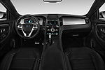 Stock photo of straight dashboard view of 2018 Ford Taurus SHO 4 Door Sedan Dashboard