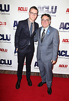 BEVERLY HILLS, CA - DECEMBER 3: Will Poulter, Hector Villagra, at ACLU SoCal's Annual Bill Of Rights Dinner at the Beverly Wilshire Four Seasons Hotel in Beverly Hills, California on December 3, 2017. Credit: Faye Sadou/MediaPunch /NortePhoto.com NORTEPHOTOMEXICO