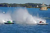 "Brandon Kennedy, GP-25 ""EMS Survior"" and Ken Brodie II, GP-50 ""Intensity""  (Grand Prix Hydroplane(s)"