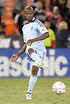 22 October 2011: Kansas City's Julio Cesar (BRA). Sporting Kansas City defeated DC United 1-0 at RFK Stadium in Washington, DC in a 2011 regular season Major League Soccer game.