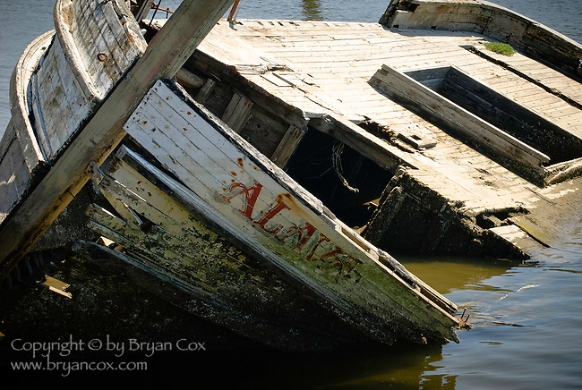 Shipwreck, Oregon coast
