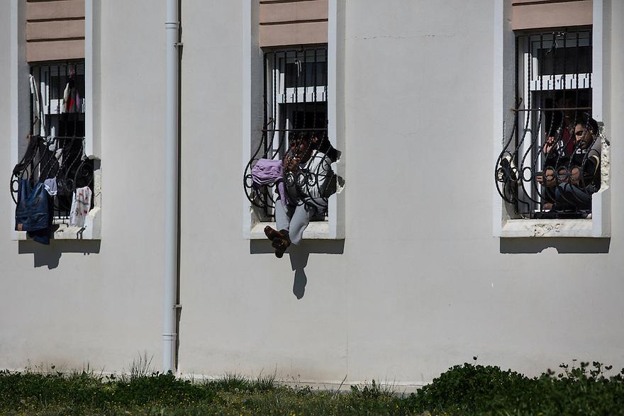 EDIRNE, TURKEY-- The Deportation Center in Edirne,  Turkey.