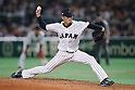 Ryo Akiyoshi (JPN), <br /> MARCH 14, 2017 - WBC : 2017 World Baseball Classic Second Round Pool E Game between Japan 8-5 Cuba at Tokyo Dome in Tokyo, Japan. <br /> (Photo by Sho Tamura/AFLO SPORT)