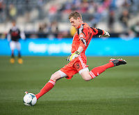 Zac MacMath.  Sporting Kansas City defeated Philadelphia Union, 3-1. at PPL Park in Chester, PA.