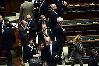 Roma, 20 Aprile 2013.Camera dei Deputati.Votazione del Presidente della Repubblica a camere riunite..Vito Crimi Movimento 5 Stelle