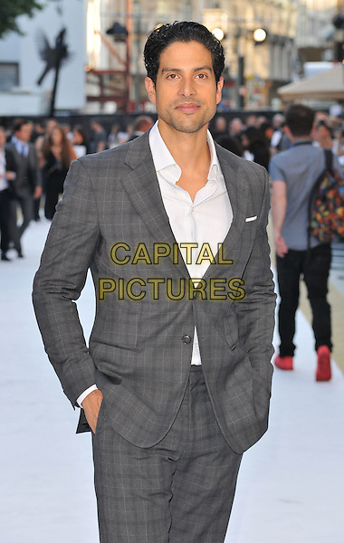 LONDON, ENGLAND - JUNE 30: Adam Rodriguez attends the &quot;Magic Mike XXL&quot; UK film premiere, Vue West End cinema, Leicester Square, on Tuesday June 30, 2015 in London, England, UK. <br /> CAP/CAN<br /> &copy;CAN/Capital Pictures