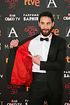 Dani Rovira attends 30th Goya Awards red carpet in Madrid, Spain. February 06, 2016. (ALTERPHOTOS/Victor Blanco)