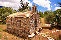 Small Orthodox Chapel, Kefalonia, Ionian Islands, Greece.