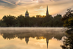 BJ 9.12.17 Campus Sunrise 7459.JPG by Barbara Johnston/University of Notre Dame