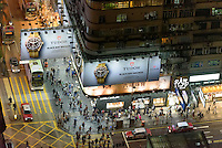 Nathan Road in Kowloon, Hongkong, China