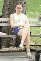 July 31,  2012 Shoshanna Shapiro on location for HBO series Girls at Washington Square Park in New York City.Credit:© RW/MediaPunch Inc. /NortePhoto.com<br /> <br /> **SOLO*VENTA*EN*MEXICO**<br /> **CREDITO*OBLIGATORIO** <br /> *No*Venta*A*Terceros*<br /> *No*Sale*So*third*<br /> *** No Se Permite Hacer Archivo**<br /> *No*Sale*So*third*