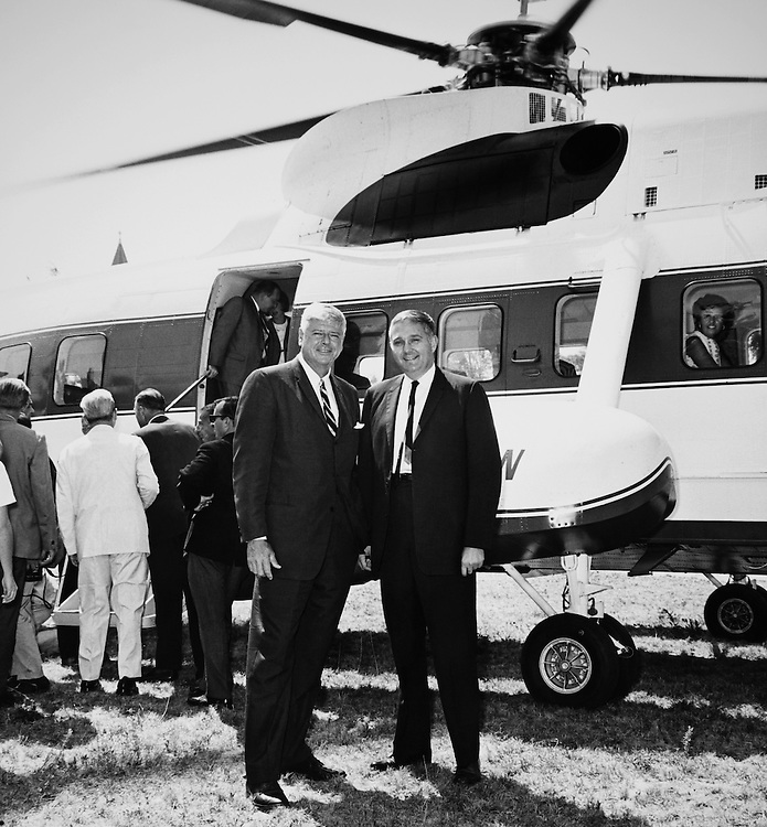Rep. Rogers Morton, R-Md. and Rep. Mark Andrews, R-N.D. 1966. (Photo by CQ Roll Call)