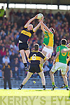 Bryan Sheehan South Kerry v Johnny Buckley Dr. Crokes in the Semi Finals of the County Senior football Championship at Fitzgerald stadium on Sunday.