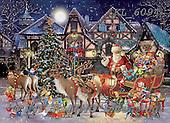 Interlitho-Simonetta, CHRISTMAS SANTA, SNOWMAN, WEIHNACHTSMÄNNER, SCHNEEMÄNNER, PAPÁ NOEL, MUÑECOS DE NIEVE, paintings+++++,santa, helper,gnoms,KL6094,#x#