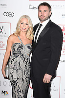 Kristina Rihanoff &amp; Ben Cohen at the 2017 London Critics' Circle Film Awards held at the Mayfair Hotel, London. <br /> 22nd January  2017<br /> Picture: Steve Vas/Featureflash/SilverHub 0208 004 5359 sales@silverhubmedia.com