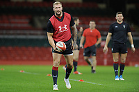 Ross Moriarty of Wales during the Wales Captains Run at The Principality Stadium in Cardiff, Wales, UK. Friday 16 November 2018