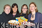 Providing the treats at the Fossa NS parents council Valentines Book and Cake sale in Fossa Community Centre on Sunday morning l-r: Catherine O'Reilly, Rose Wallace, Jane O'Shaughnessy and Grainne Bellew