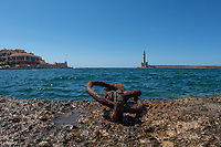 Harbor, Chania, Crete, Greece