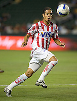 Necaxa Fwd Fabiano Periera. Necaxa defeated LA Galaxy 1-0 in an International friendly match at The Home Depot Center in Carson, California, Wednesday July 12, 2006.