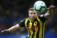 Tom Cleverley of Watford in action during Chelsea vs Watford, Premier League Football at Stamford Bridge on 5th May 2019